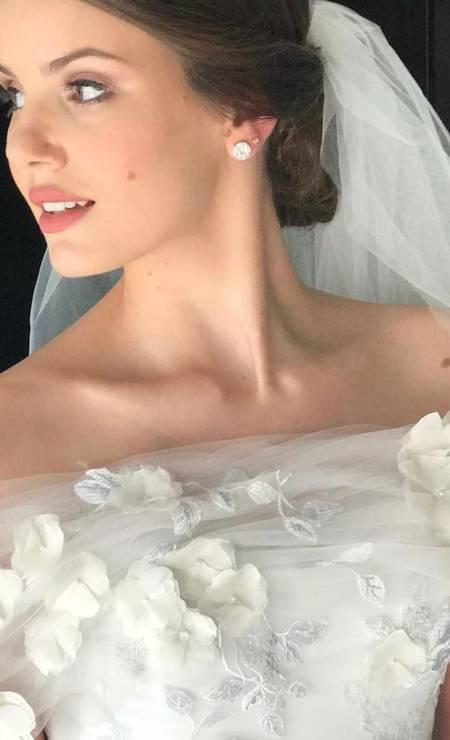 A beleza de Camila Queiroz Foto: Divulgação