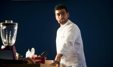 O chef português Tiago Bonito foi umas das atrações internacionais do Rio Gastronomia Foto: Adriana Lorete / O Globo