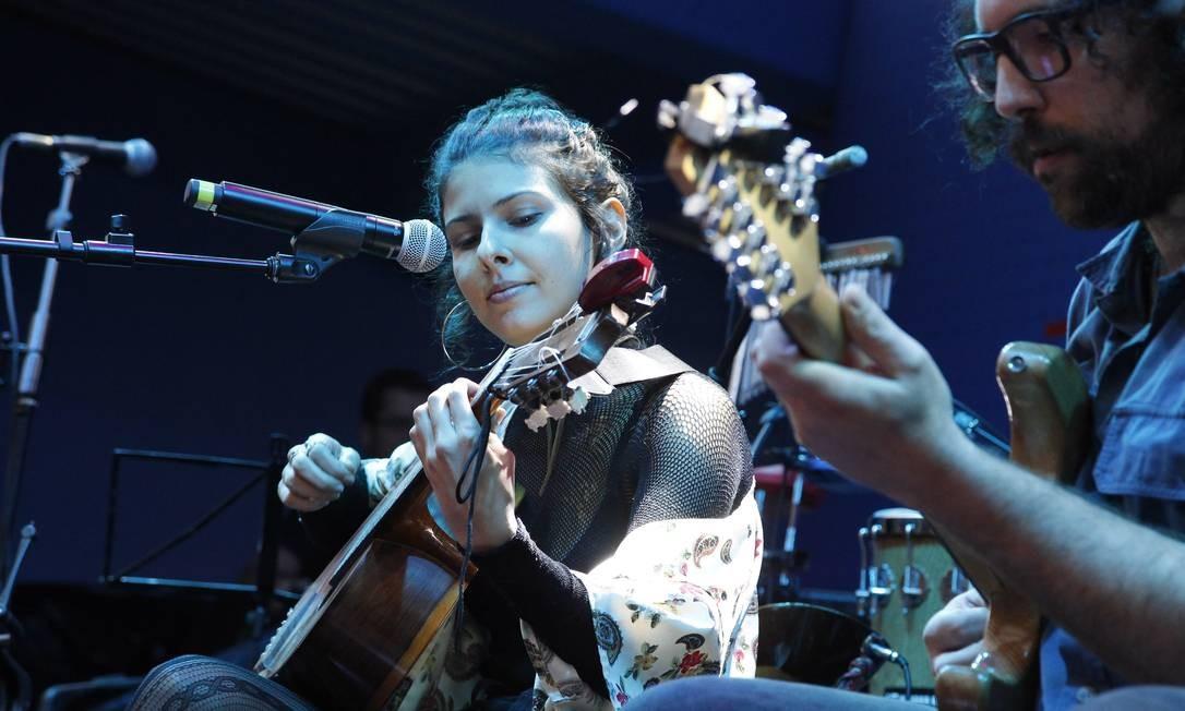 Antes teve Daíra Saboya em seu tributo ao cantor Belchior Nelson Perez/Luminapress / Agência O Globo