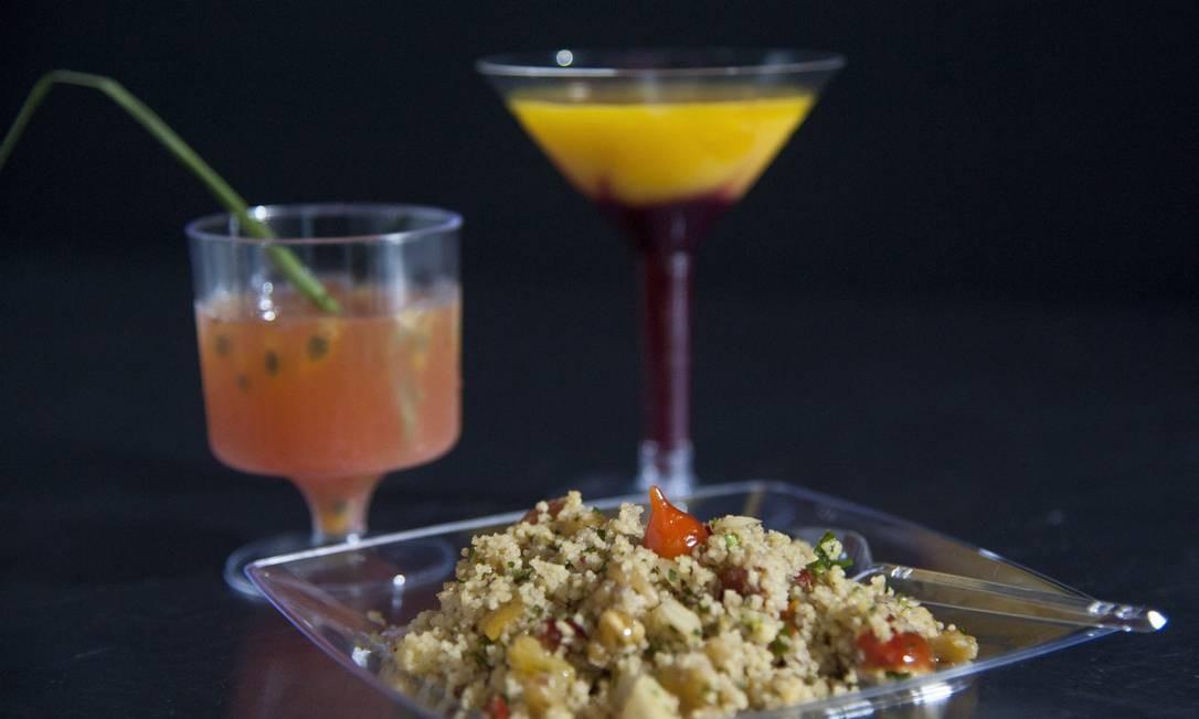'A versatilidade das pimentas no preparo de comidas e drinques' foi tema de aula no Rio Gastronomia Adriana Lorete / Agência O Globo