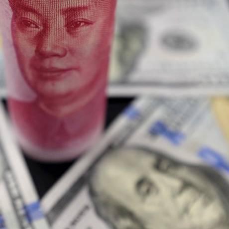 Yuan X Dólar Foto: Jason Lee / REUTERS