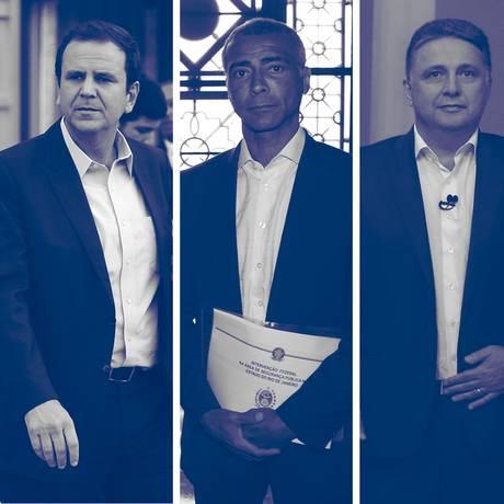 Candidatos ao governo do Rio que foram convidados a participar do debate no jornal O Globo Foto: Montagem O Globo