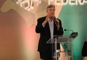 O deputado Luiz Carlos Heinze (PP-RS), candidato ao Senado na chapa do PSDB Foto: Divulgação
