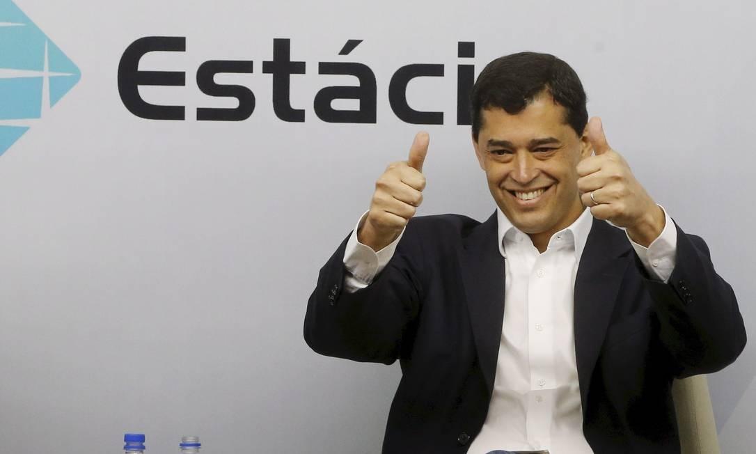 Indio da Costa durante o debate entre governadores Foto: Pablo Jacob / Agência O Globo