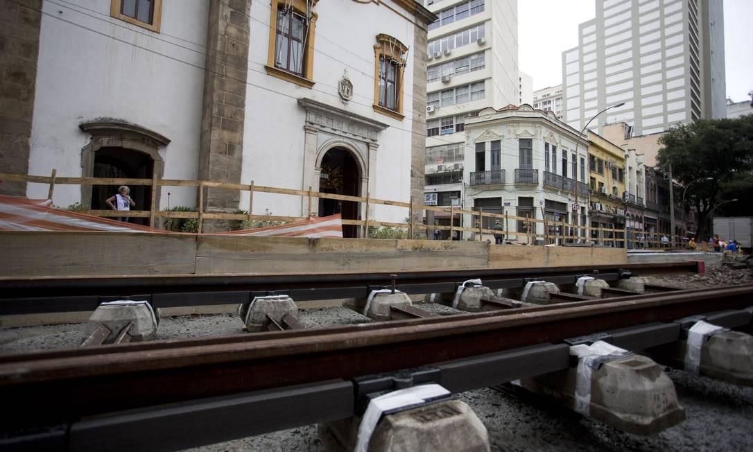 A pedido do movimento negro, não haverá escavações perto da Igreja de Santa Rita Foto: Márcia Foletto / Agência O Globo