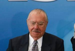 O ex-presidente José Sarney Foto: André Coelho / Agência O Globo
