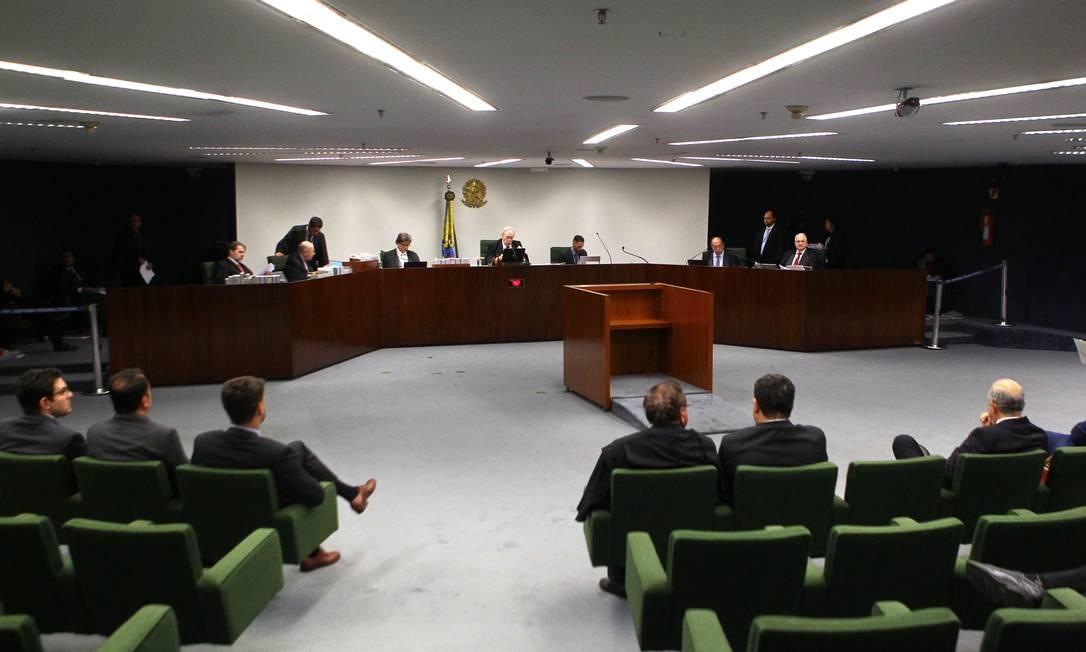 Sessão da Segunda Turma do STF Foto: Jorge William / Agência O Globo