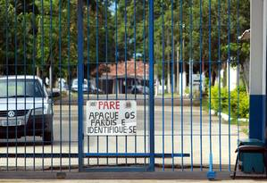 O presídio de Tremembé, em São Paulo Foto: Gabriel de Paiva / Agência O Globo