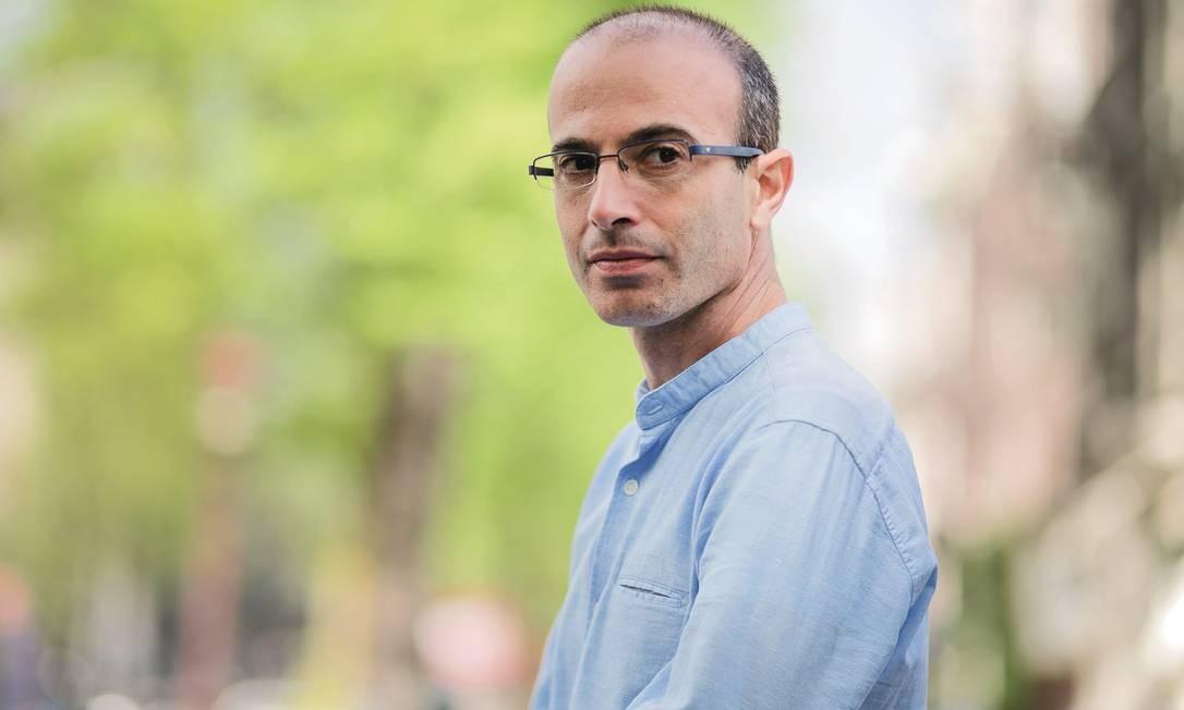 O escritor israelense Yuvak Noah Harari Foto: Divulgação/Olivier Middendorp