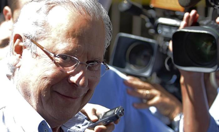 O ex-ministro José Dirceu Foto: Jorge William / Agência O Globo