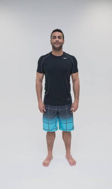 Adalberto Neto, 37 anos. Desafio: diminuir o percentual de gordura. Roberto Vianna Soares
