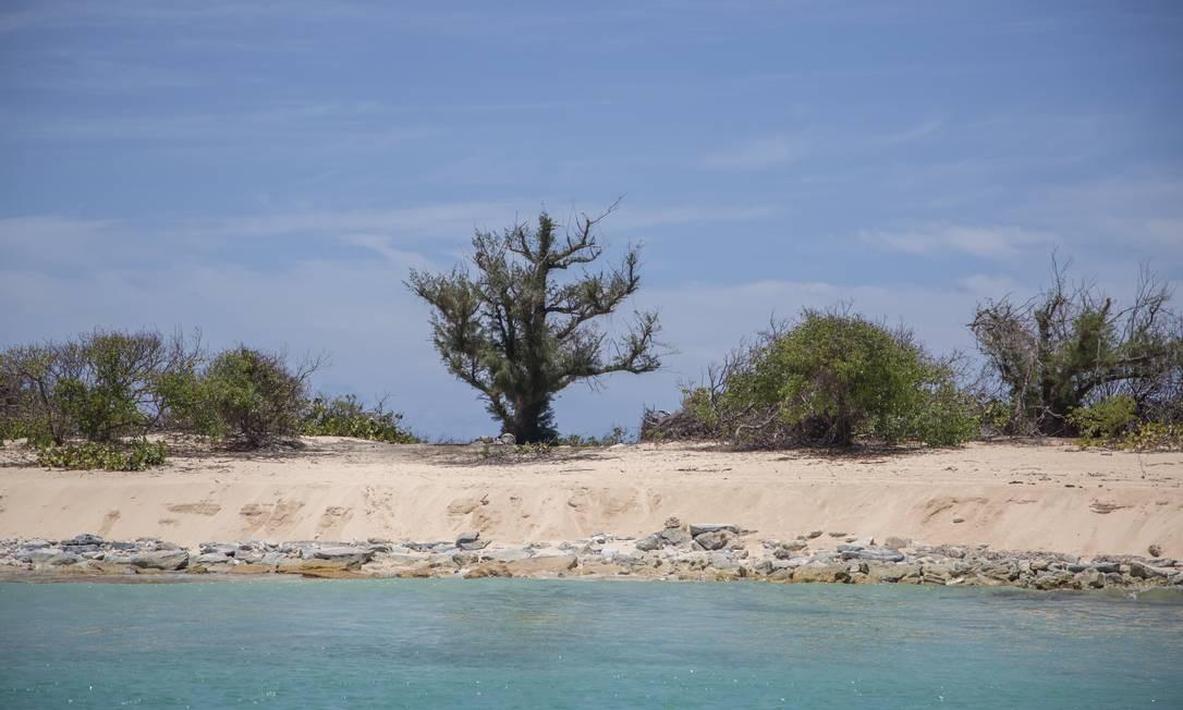 Com mais de 30 praias, muitas desertas, a ilha de St. Martin é um lugar para descanço e diversão Foto: Paulo Moreira / Agência O Globo