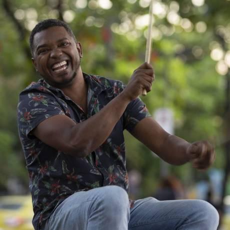 Cléo Henrique, músico tijucano Foto: Alexandre Cassiano