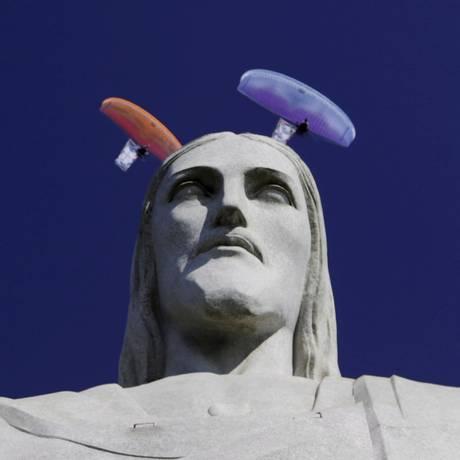 O munumento do Cristo Redentor, um dos símbolos do Rio Foto: Gabriel de Paiva / O Globo