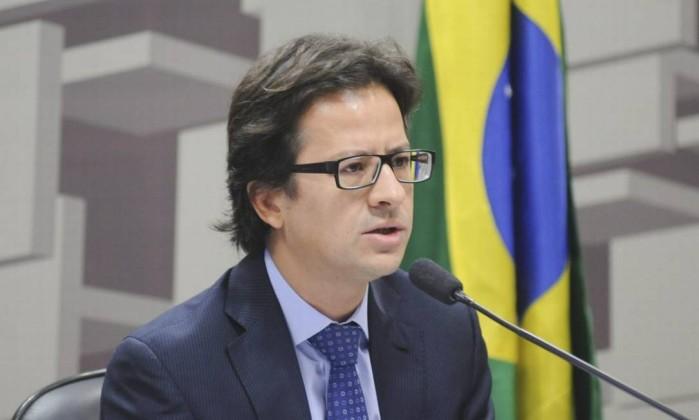 Gustavo Borba, ex-diretor da CVM Foto: Pedro França / Agência Senado