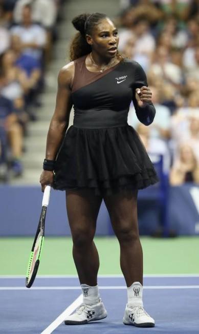 Serena também usa meias: Beyoncé das quadras? Julian Finney / Getty Images