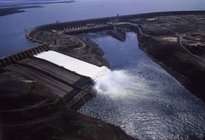 Usina Hidrelétrica de Itaipu, em Foz do Iguaçu Foto: Amilton Vieira / Editora Globo