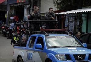 Interventor autoriza aquisição de novos coletes balísticos para PMs e agentes penitenciários Foto: Antonio Scorza / Agência O Globo