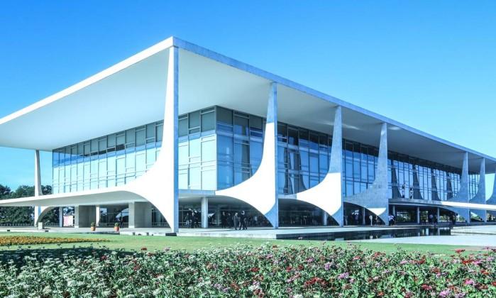 O Palácio do Planalto, em Brasília Foto: Romerio Cunha / Flickr