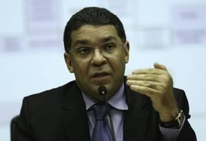 O secretário do Tesouro Nacional, Mansueto Almeida, durante entrevista Foto: Fabio Rodrigues Pozzebom/Agência Brasil