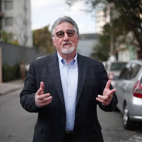 O professor Stravos, consultor de educação do Bolsonaro Foto: Marcos Alves / Agência O Globo