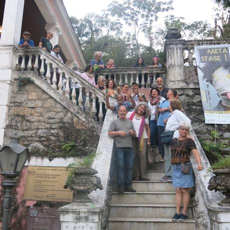 Artistas que vão participar do evento Arte de Portas Abertas, em Santa Teresa Foto: Patricia de Paula