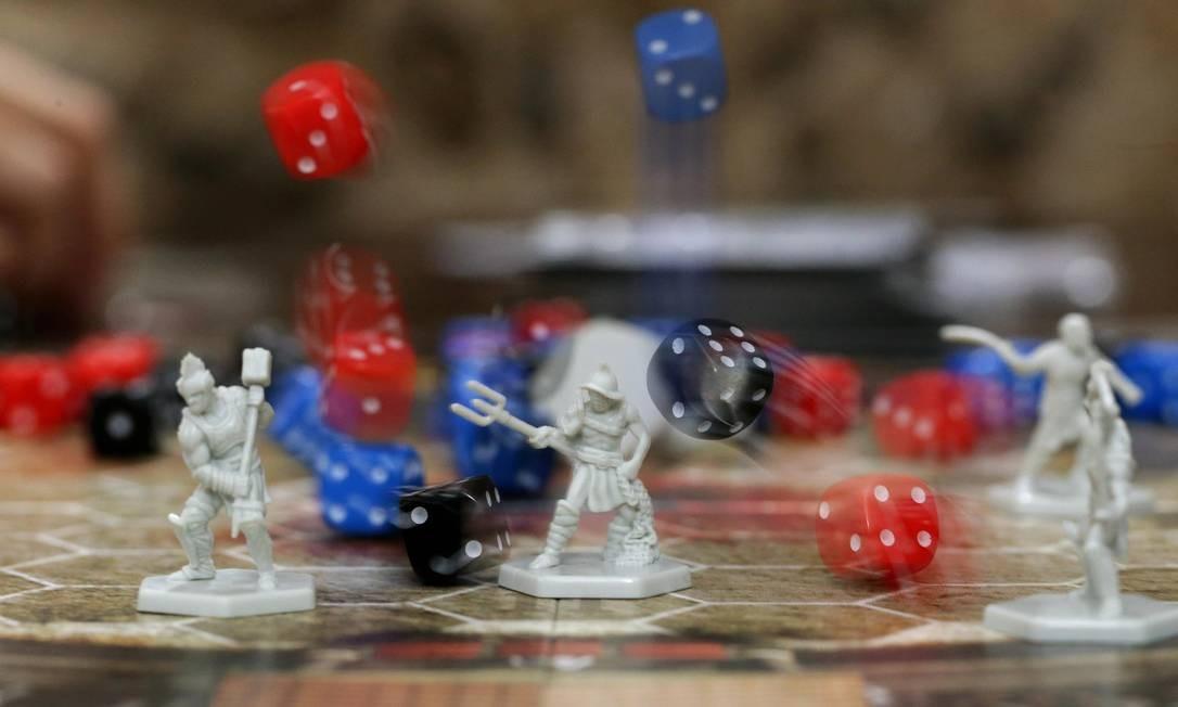Na foto, jogo Spartacus, no Game of Boards Foto: Marcio Alves / Agência O Globo