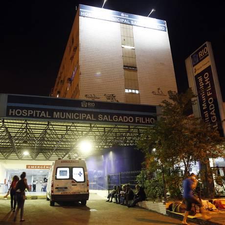Hospital Salgado Filho. Imagem de 26/04/2018 Foto: Marcos de Paula / Agência O Globo
