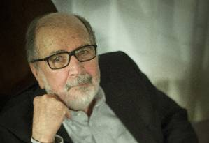 O Cineasta Cacá Diegues é eleito para a Academia Brasileira de Letras. Foto: Guito Moreto / Agência O Globo