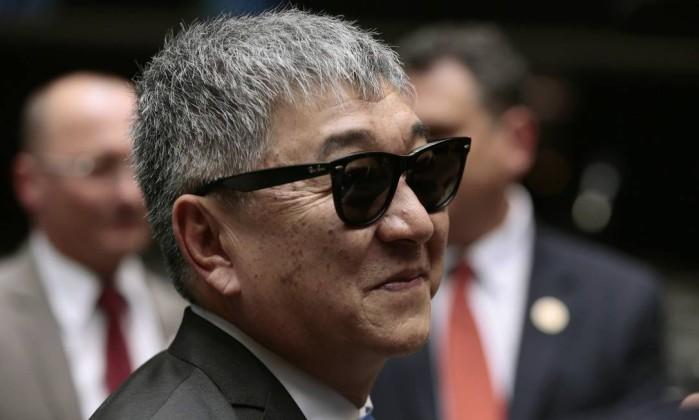Newton Ishii, conhecido como Japones da Federal Foto: Jorge William / Agência O Globo