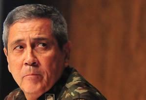 O general Walter Souza Braga Netto Foto: Armando Paiva / Agência O Globo