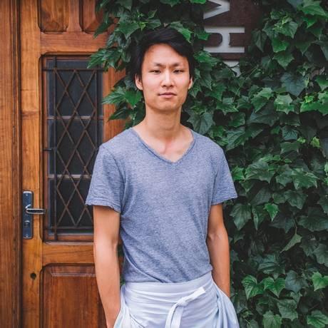 Paulo Shin e seu Komah: coreano moderno Foto: Divulgação