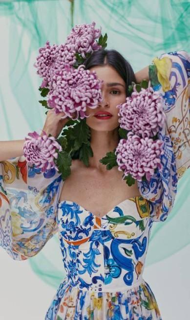 Vestido Dolce & Gabbana Mar+Vin