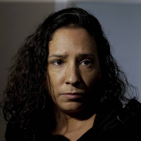 Mônica Benício, viúva de Marielle Franco Foto: Marcelo Theobald/6-8-2018 / Agência O Globo