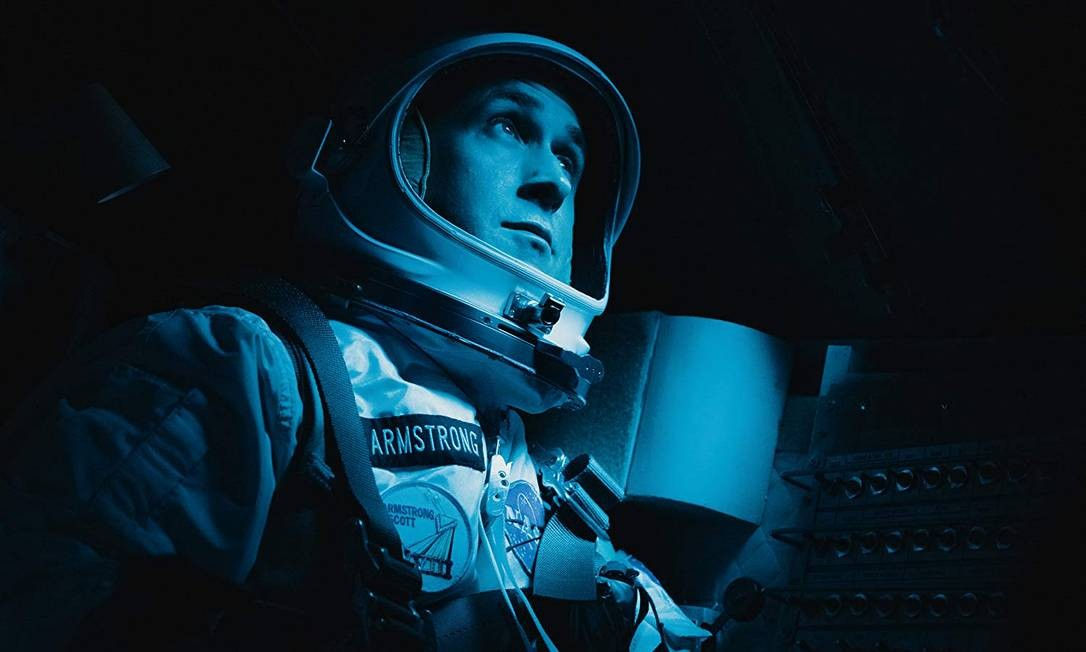 Ryan Gosling como Neil Armstrong em 'O primeiro homem' Foto: Divulgação/Daniel McFadden