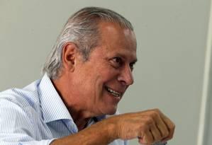 O ex-ministro José Dirceu Foto: Givaldo Barbosa / Agência O Globo