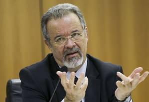O ministro da Segurança Pública, Raul Jungmann Foto: Marcelo Camargo / Agência Brasil