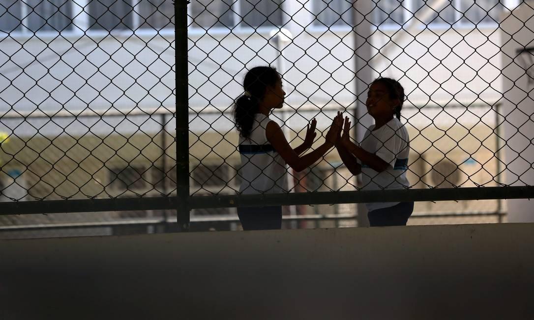 Estado elevou índice no fundamental, mas nao bateu metas Foto: Custódio Coimbra / Agência O Globo