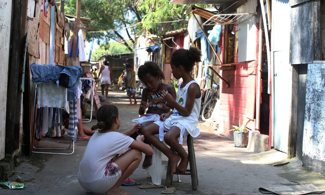 País tem 23,3 milhões de pessoas abaixo da linha da pobreza Foto: Fabiano Rocha / Agência O Globo