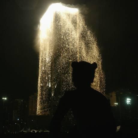 Última cascata de fogos aconteceu em 2003 Foto: Gabriel de Paiva
