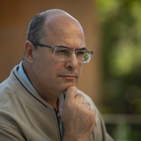 Wilson Witzel, o candidato do PSC ao governo do Rio Foto: Alexandre Cassiano / Agência O Globo