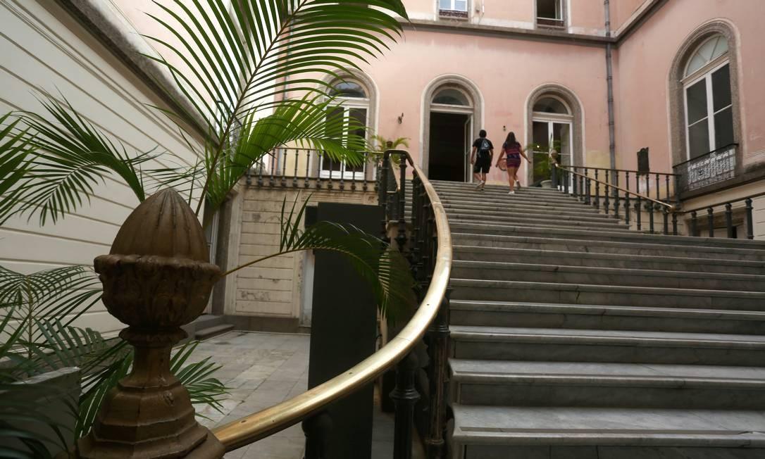E serviu de moradia da família real portuguesa de 1808 a 1821 Foto: Custódio Coimbra / 30/05/2018