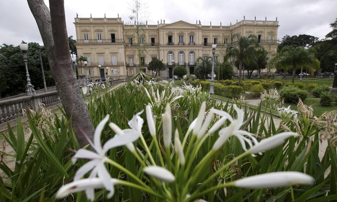 O Museu Nacional, na Quinta da Boa Vista, era a mais antiga instituição científica do Brasil Foto: Custódio Coimbra / 30/05/2018