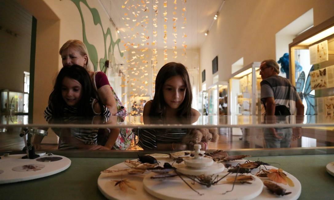 O museu atraía centenas de visitantes nos fins de semana Foto: Custódio Coimbra / 30/05/2018
