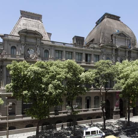 Fachada do Museu Nacional de Belas Artes, no Centro do Rio Foto: Leo Martins / Agência O Globo