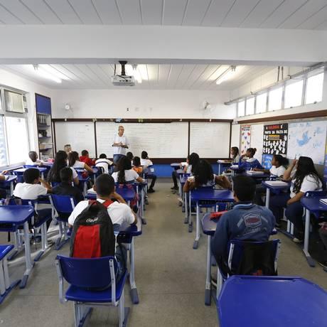 Ensino médio piorou em 5 estados, entre eles o Rio Foto: Pablo Jacob / Agência O Globo