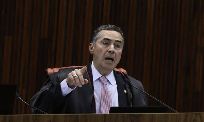 O ministro Roberto Barroso Foto: Fabio Rodrigues Pozzebom / Agência Brasil