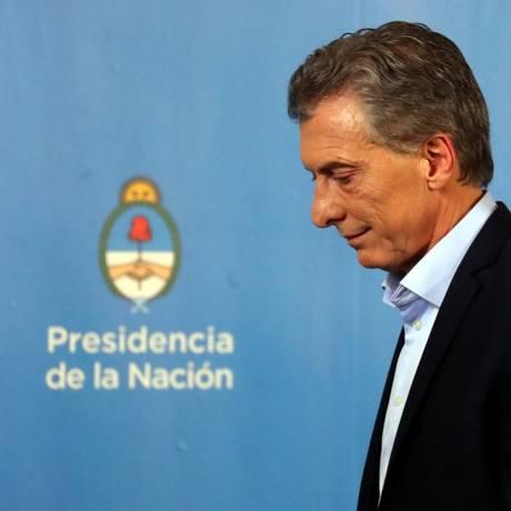 O presidente da Argentina Mauricio Macri foi sequestrado em agosto de 1991 Foto: Marcos Brindicci / Reuters