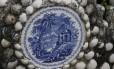 Bastidores do Museu Nacional: detalhe do banco do Jardim das Princesas
