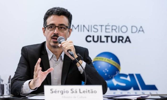 O ministro da Cultura Sérgio Sá Leitão Foto: Divulgação / Janine Moraes/MinC